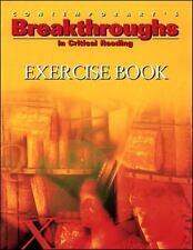 Contemporary's Breakthroughs in Critical Reading: Exercise Book-ExLibrary