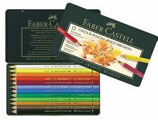 #110012 Scatola di 12 Faber-Castell Polychromos Artisti Colore arte matite NUOVO!