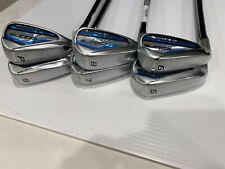 Cobra F-Max Airspeed Golf Club Iron set: 5-PW, w/graphite REGULAR: LEFT HANDED