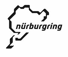 NURBURGRING LAP VINYL STICKER LOTS OF COLOURS