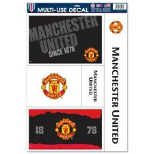 "Manchester United Soccer 11"" x 17"" Car Window Cling Decal Man U Wincraft"