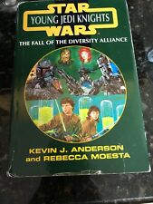 Star Wars-Young Jedi Knights Fall of Diversity Alliance Hardcover Dust Jacket
