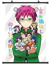 5114 Saiki Kusuo no Sainan Decor Poster Wall Scroll cosplay