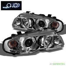For 00-03 BMW E46 3-Series 2 Door 01-06 M3 Halo LED Pro Headlights Head Lights
