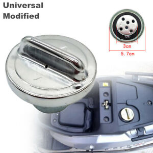 Universal Modified Motorcycle Fuel Gas Tank Cap Cover fit for Suzuki Kawasaki