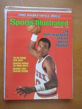 1978 Sports Illustrated Marvin Webster N.Y. KNICKS PRO Basketball Issue NO LABEL