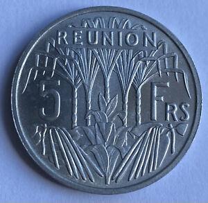 Reunion 5 Francs 1955 (KM#9)