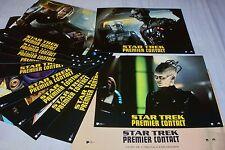 STAR TREK  premier contact !   jeu 12 photos cinema lobby cards science fiction