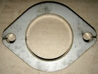 "Stainless Steel - 2 1/2"" Inch (63mm) 2-Bolt Exhaust Flange Plate 8mm Thick"