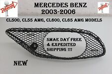 MERCEDES 03-06 CL500 CL55 600 CL65 AMG Front Bumper Cover Right Mesh Grille NEW