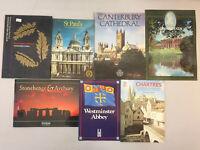 Travel Books England London Kensington Palace Stonehenge Chartres Lot of 13