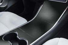Tesla Modell 3 Zentrum Konsole M Bild Set 3M Vinyl Aufkleber Wrap - Matt Schwarz