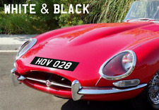 Stick-On Car Number Plates Mini Aston E type Classic car Vintage rally stickers.