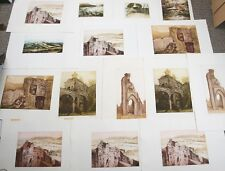 12 x Etchings / Aquatints Pat M Mallinson. Camden School of Art, Royal Academy.