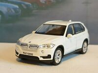 PERSONALISED BMW X5 - WHITE 1.38 DIECAST MODEL CAR BOXED PRESENT BIRTHDAY GIFT