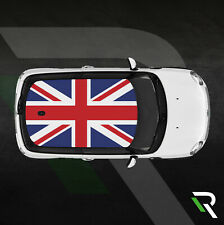 MINI COOPER COUNTRYMAN CLUBMAN ONE ROOF UK UNION JACK DECALS STICKERS VINYL