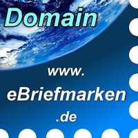 www.ebriefmarken.de - Domain / Internet-Adresse / Web-Adresse / URL