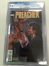 PREACHER #4 CGC 9.6 GARTH ENNIS, STEVE DILLON DEATH OF SHERIFF ROOT AMC TV SHOW