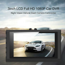 "3"" 1080P DVR Car Vehicle Dash Dashboard Camera Video G-sensor Crash Cam"