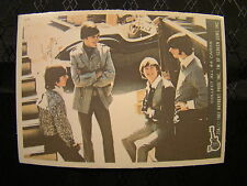 Vintage The Monkees Raybert Trading Card 1967 23 A All 4 Dressed Nice TV Show