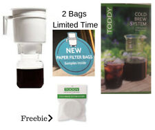 Free Filters (value $12) The Toddy Cold Brew System Espresso Style Coffee Tea