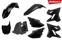 Black YZ 125 250 15 >21 Conversion kit 02 >14 MX Bike Plastics Kit Restyle 90718