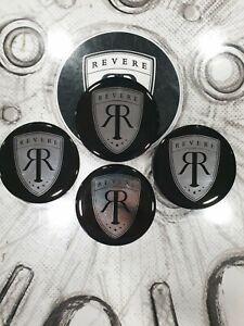 Revere London - Revere Design Centre Cap Logos -  WC 2 + WC 4 Wheels     X4