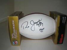 RON JAWORSKI EAGLES #7 MNF MONDAY NIGHT FOOTBALL AUTOGRAPHED NFL FOOTBALL (510)
