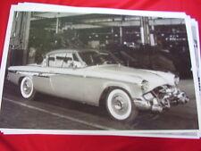 1955 STUDEBAKER  SPEEDSTER IN FACTORY   BIG 11 X 17  PHOTO /  PICTURE