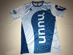 Pactimo nuun Mens Casual Blue Cycling Tech T Shirt Size Medium NWOT!