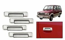 DLT - Chrome Plated Car Door Handle Cover for Toyota Qualis (Set of 4)