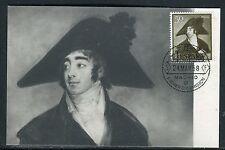Espagne - Carte maximum 1958 - Oeuvre de Goya , le comte de Fernan - Numez