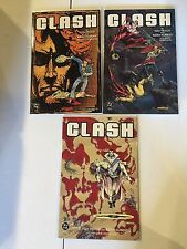 CLASH #1 2 3 COMPLETE SET HIGH GRADE ADAM KUBERT & DAVE HORNUNG