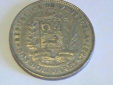 Republica de Venezuela 1967 Boliviares Bolivar Libertador Coin