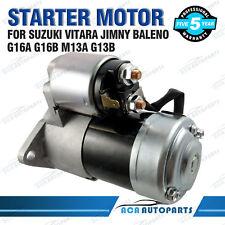 Starter Motor for Suzuki Vitara G16A G16B 1.6L Swift Sierra G13A G13B 1.3L