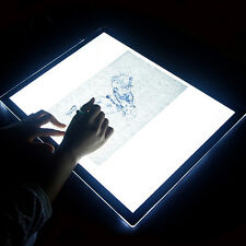 Ultra Thin A2 LED Light Animation Drawing Stencil Tracing Art Board Pad Table