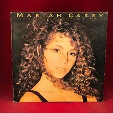 MARIAH CAREY Mariah Carey 1990 UK  Vinyl LP EXCELLENT CONDITION Same self titled