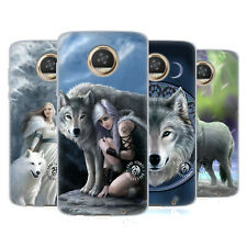 OFFICIAL ANNE STOKES WOLVES GEL CASE FOR MOTOROLA PHONES