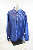 Chaps Blue Button Down Size XL 17 - 17 1/2