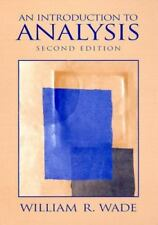 Introduction to Analysis (2nd Edition), Wade, William R., Good Book