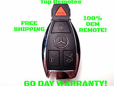 MERCEDES BENZ IYZDC07 REMOTE SMART KEY FOB 4 BUTTON OEM GENUINE FACTORY