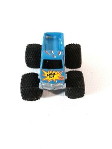 "MICRO MACHINES - MONSTER TRUCK ""KNOCK OUT"" Chevy Silverado Pickup TuffTrax car"