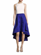 Aidan Mattox Crape Top Taffeta High-low  2-Piece Skirt Size 6 # P 33 MSRP $255