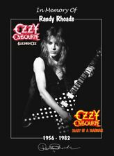 Ozzy Osbourne Band Randy Rhoads Memorial Stand-Up Display - Guitar Rock Gift