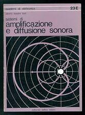 BANDINI BUTI ALBERTO AMPLIFICAZIONE E DIFFUSIONE SONORA DELFINO 1979 ELETTRONICA