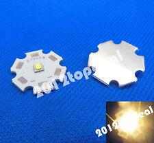 5PCS Cree XLamp XPG2 XP-G2 Warm White 3000K LED Light 1W~5W on 20mm Star base