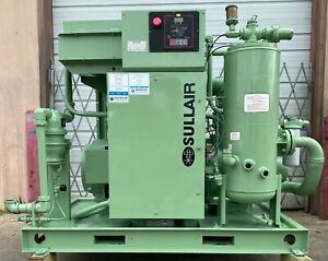 100hp Sullair Screw Compressor, Very Low Hours