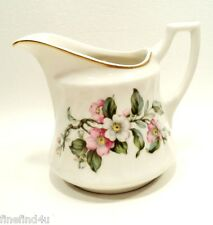 Apple Blossom Syracuse China Minty Made in USA Creamer Pitcher(s) Sauce Dressing