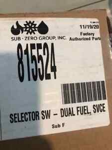 815524 Wolf Dual Fuel Selector Switch OEM