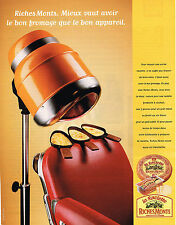 PUBLICITE ADVERTISING 114  1999  RICHEMONTS   fromage pour raclette